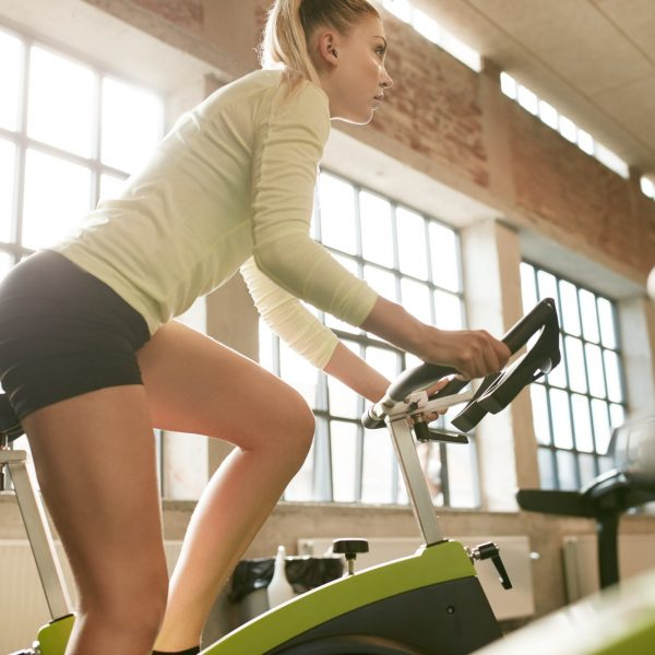female-exercising-on-a-bike