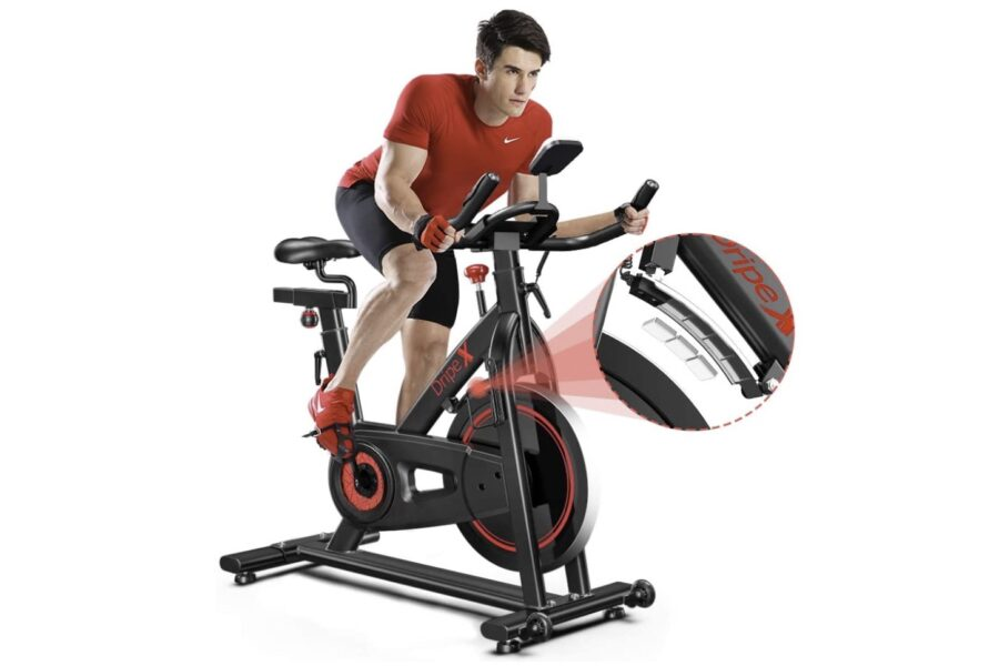 Dripex Indoor Cycling Magnetic Resistance Exercise Bike (2021 Upgraded Version)